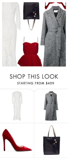 """""""Top Over Dress"""" by amberelb ❤ liked on Polyvore featuring Alexis, Alexander Wang, Prada and Elizabeth and James"""