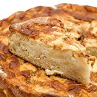 Old Fashioned Fresh Apple Cake by Julia Pillow