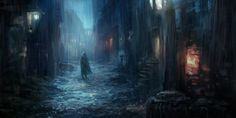 You\'re not alone on this road. by JiWu | Fantasy | 2D | CGSociety