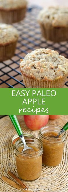 Easy paleo apple recipes—gluten-free versions of all your fall favorites, from a classic apple pie recipe to apple crisp to easy slow cooker applesauce. ~ http://cookeatpaleo.com