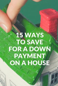 Learn 15 unique ways to save money for a down payment on a house.
