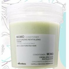 Davines Momo Conditioner, Moisturising and revitalizing conditioner. Its advanced formula allows it to adapt to the specific moisturising needs of dry, and dehydrated hair, giving it the softness, body and shine it needs.