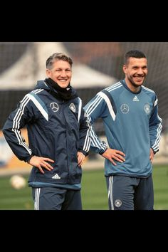Basti and Lukas