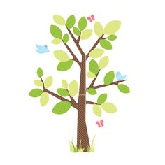 Room Mates Kids Tree Peel and Stick Giant Wall Decal | AllModern