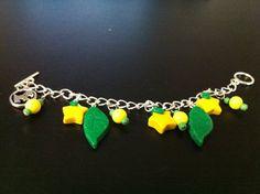 Paopu Fruit Charm Bracelet