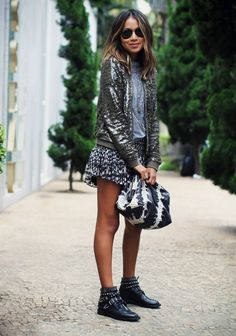 love this sequined jacket