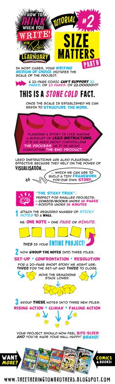 The Etherington Brothers: MASSIVE #LEARNUARY NEWS! Announcing How to THINK when you ... WRITE!!!!!