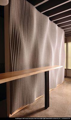 Wooden Wall Panels, 3d Wall Panels, Wooden Wall Art, Parametrisches Design, Lobby Design, House Design, Wood Wall Design, Wall Panel Design, Office Interior Design
