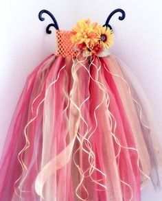 Harvest Tutu Dress Set - This young woman does amazing work!