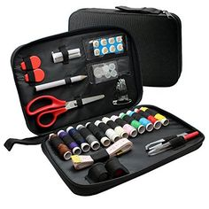 Sewing Kit from IntoHome Products Offer a Full Set of 60 Accessories, Includes Quality Scissors and Easy to Thread Needles, Suitable For a Professional or As a Starter For Beginners-Get Creative Now!, http://www.amazon.com/dp/B015VNPW2G/ref=cm_sw_r_pi_awdm_zk2qwb1E4PXSC