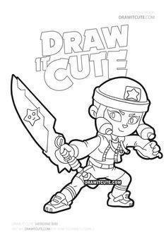 How To Draw Heroine Bibi Brawl Stars Draw It Cute Ausmalbilder Zum Ausdrucken Bilder Zum Ausdrucken Ausmalbilder