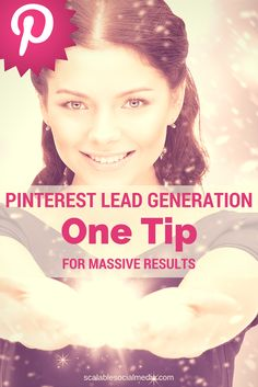 One Tip for Massive Pinterest Leads http://scalablesocialmedia.com/2014/09/how-to-generate-leads-pinterest/ via @scalablesocial