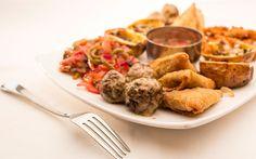 Shiima Restaurant Sausage, Restaurant, Meat, Chicken, Food, Twist Restaurant, Meal, Sausages, Diner Restaurant