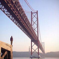 Ponte 25 de Abril in Lisboa, Lisboa