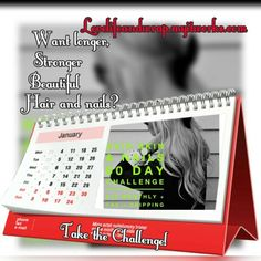 90 days Hair Skin and Nails Challenge