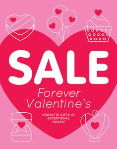StockLayouts delivers ready-made poster templates that will help you promote a valentine sale your customers will love.