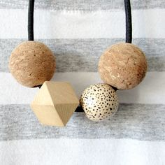Your place to buy and sell all things handmade Geometric Necklace, Photo On Wood, Wood Print, Cork, My Etsy Shop, Place Card Holders, Unique Jewelry, Handmade Gifts, Creative