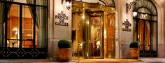 Prince de Galles, Paris (Starwood Hotel) Lovely and quaint, felt like we were traveling back in time. A wonderful place to stay.