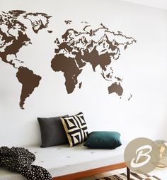 World map decal for wall world map sticker for office large wall world map decal for wall world map sticker for office large wall decal removable wall decal world map wall decal vinyl wall decal ak003 wall decal gumiabroncs Gallery