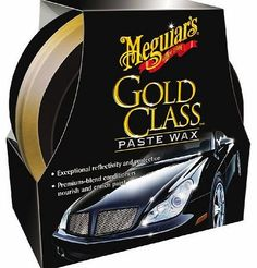 Meguiars Car Care Products Meguiars Gold Class Paste Wax Car Wax 311 g MeguiarTMs strong, long-lasting protection to preserve your finish. The proprietary blend of premium carnauba plus protecting polymers delivers amazing results and this (Barcode EAN = 0070382800352) http://www.comparestoreprices.co.uk/car-spares/meguiars-car-care-products-meguiars-gold-class-paste-wax-car-wax-311-g.asp