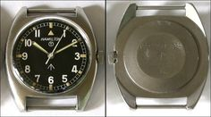 "Hamilton ""Broad Arrow"" military watch, c. 1971."