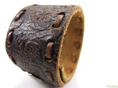 Reclaimed Leather Cuff
