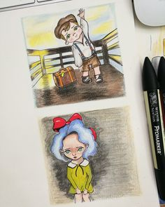 Character design, draw, drawing, littlegirl, littleboy