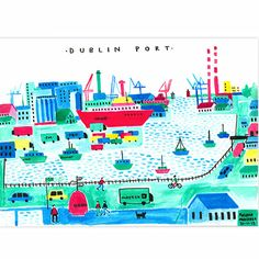 Illustrated Views of Dublin City