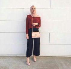 Fashion style hijab casual colour 54 New ideas Street Hijab Fashion, Fashion Mode, Muslim Fashion, Fashion Outfits, Trendy Fashion, Fashion 2018, Fashion Clothes, Dress Fashion, Fashion Photo