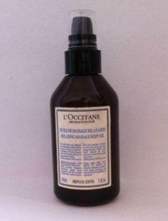 Loccatiane Relaxing Moisturizing Body Oil #Loccatiane