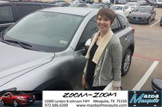 #HappyAnniversary to Alyson Bryan on your 2014 #Mazda #Cx-5 from Everyone at Mazda of Mesquite!