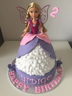 Dolly Varden fairy cake