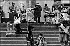 """Susan Meiselas, """"Volunteers of America"""" 1976-1978"""