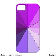 shades of purple iPhone SE/5/5S case #iPhone #case #purple http://www.zazzle.com/shades_of_purple_iphone_se_5_5s_case-179558760609450778?rf=238156233152066519