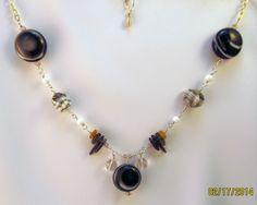Quartz, Glass, Amber, Alexandrite  and Silver