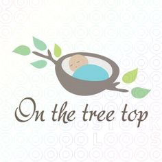 On the tree top logo