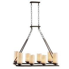 Cordova 8 Light Chandelier $214