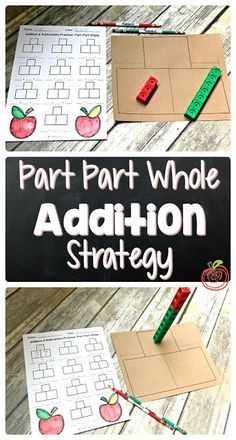 """Great activity for helping Kindergarten grade, and grade students master their basic facts. Letting students """"be the teacher"""" and create their own worksheets sounds like such an easy and fun idea. Envision Math Kindergarten, Kindergarten Math Activities, Math Resources, Kids Math, Kindergarten Class, Subtraction Strategies, Addition And Subtraction Worksheets, Math Addition, Math Numbers"""