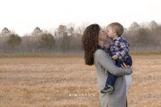 mother and son maternity ~ Cary North Carolina maternity photographer #maternityphotographer