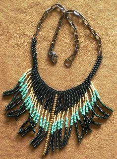 PRICE REDUCED Native American style tribal by MontanaTreasuresbyMJ