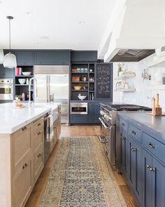 Elegant Shelves To Break Up Built In Wall (@lindsay_hill_interiors)   @cbcbuilds | Kitchen  Design | Pinterest | Kitchen Design, Utah And Kitchens