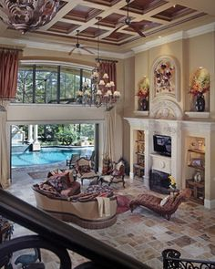 Mediterranean Dream - mediterranean - living room - miami - Weber Design Group, Inc.