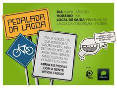 Vem pedalar com a gente!
