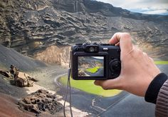 Landscape on the digital camera  by JCB Photogr@phic on @creativemarket