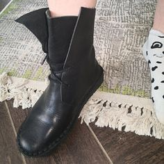 Handmade Blue Shoes for Women,Oxford Shoes, Flat Shoes, Retro Leather Shoes, Casual Shoes Oxford Shoes Outfit, Black Flats Shoes, Women Oxford Shoes, Blue Shoes, Casual Shoes, Shoes Women, Brown Leather Boots, Leather Shoes, Soft Leather