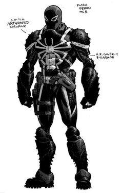 Agent Venom Concept Art!