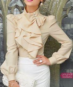 Стильные блузки всегда в моде