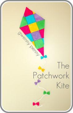 Gwenny Penny: Felt Patchwork Kite Tutorial