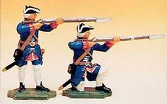 Prince August  - PAF901: French Regiments 1750 - Soldiers Standing