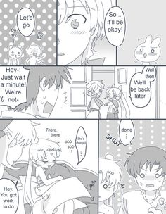Read right to left. Comic by Cockpit. Translated by Sailor Scribbles. Translator's Note: In case it isn't clear, Helios is basically asking for permission to court/date Chibusa but his choice of words...